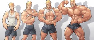набор массы тела