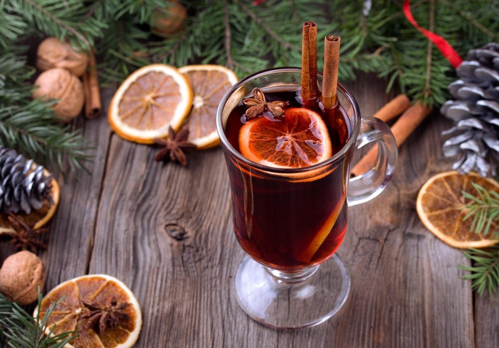 согревающие зимние напитки