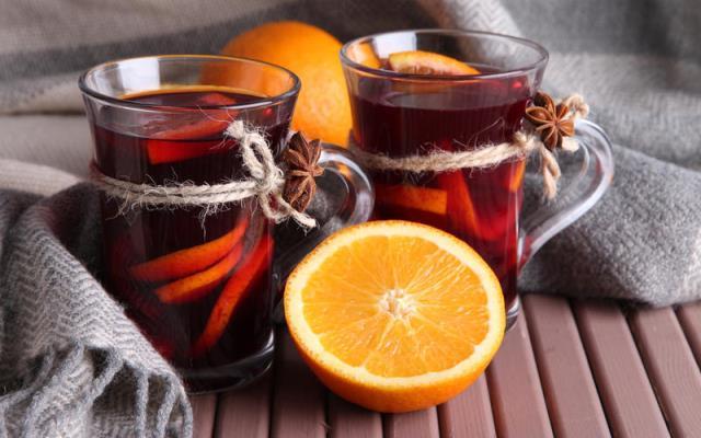 вкусные согревающие напитки