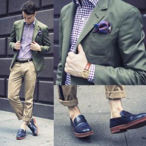 штаны с подворотами