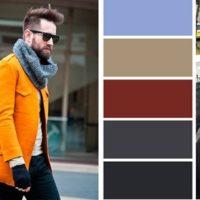 Сочетание цветов в одежде для стильных мужчин