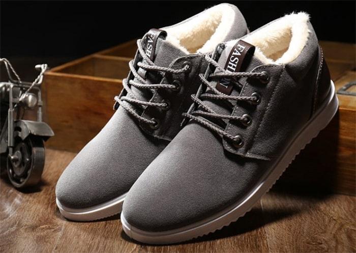 виды мужской зимней обуви