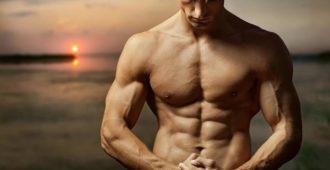 красивое мужское телосложение
