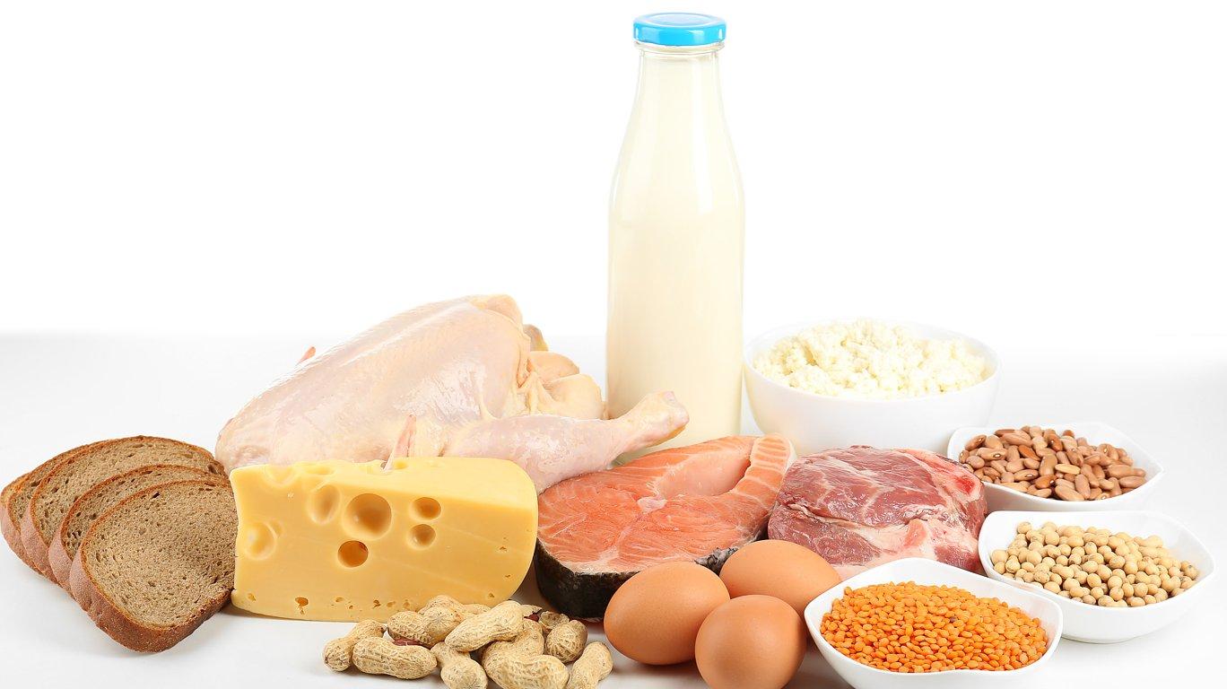 белок в продуктах для мужчин