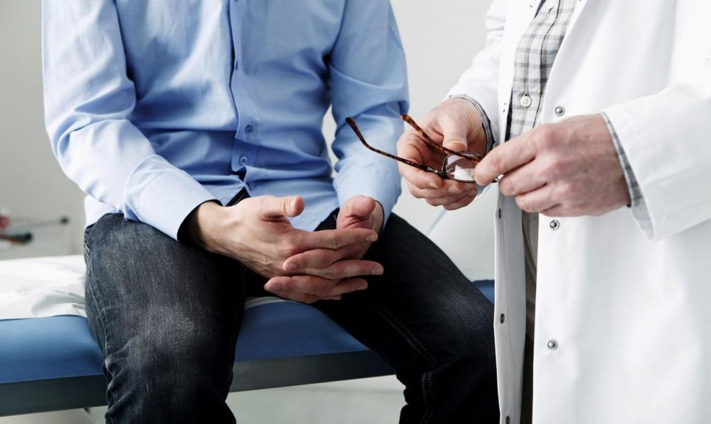 Профилактика простатита - поход к врачу