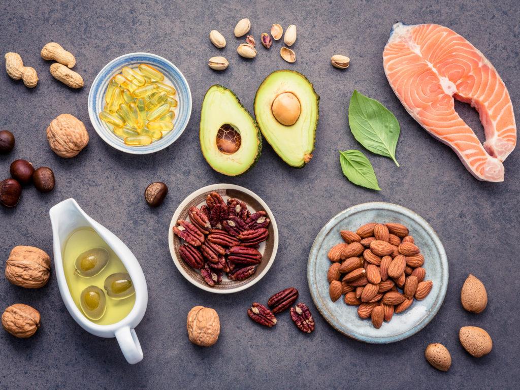 Содержание Витаминов группы B в продуктах питания
