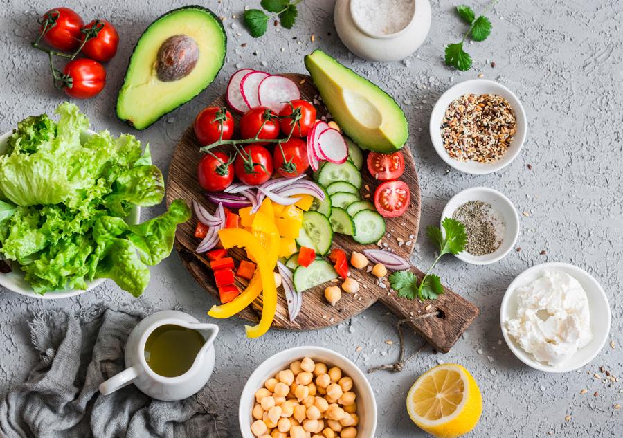 Содержания Витамина B в продуктах