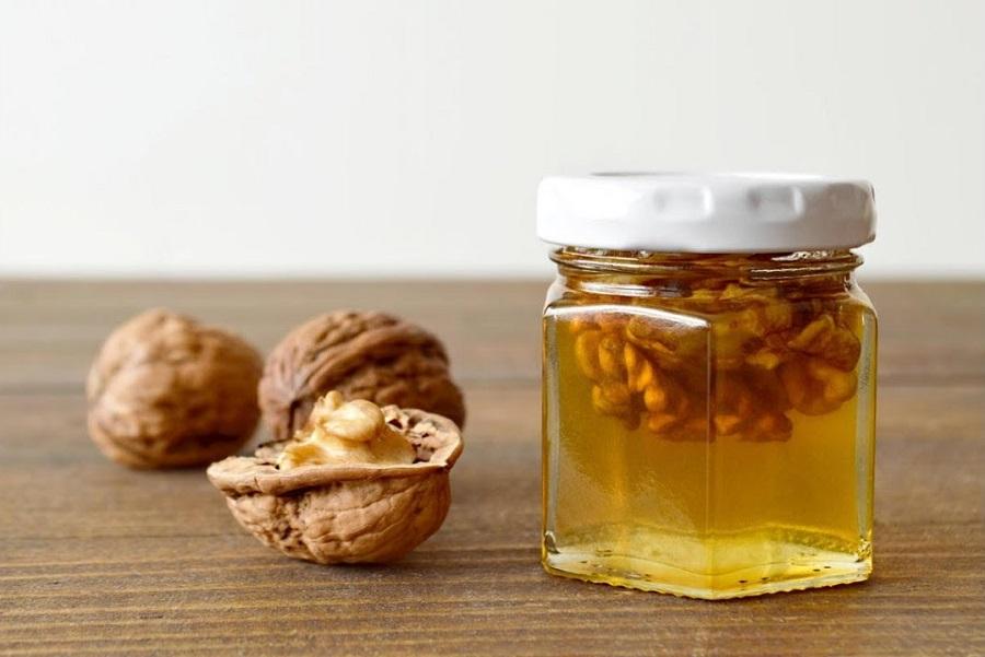 мед и грецкие орехи для мужчин рецепт