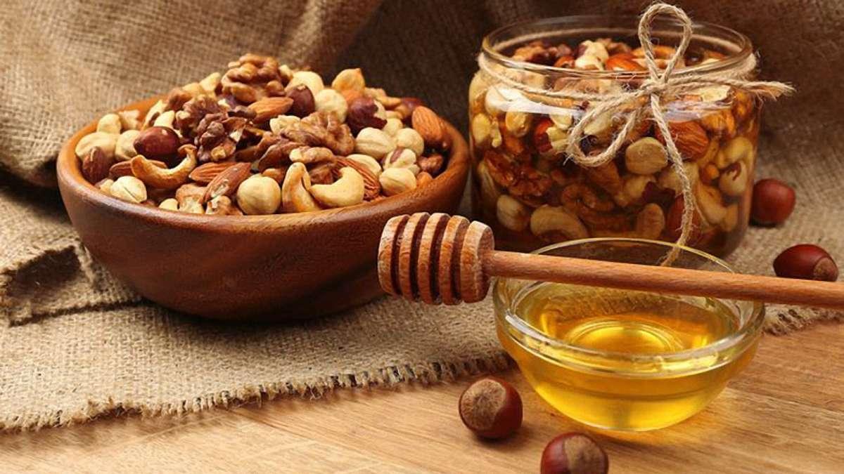 какие орехи для потенции