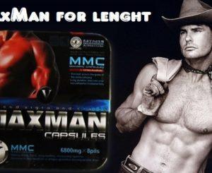 Крем и таблетки MaxMan для сильной потенции и продления полового акта