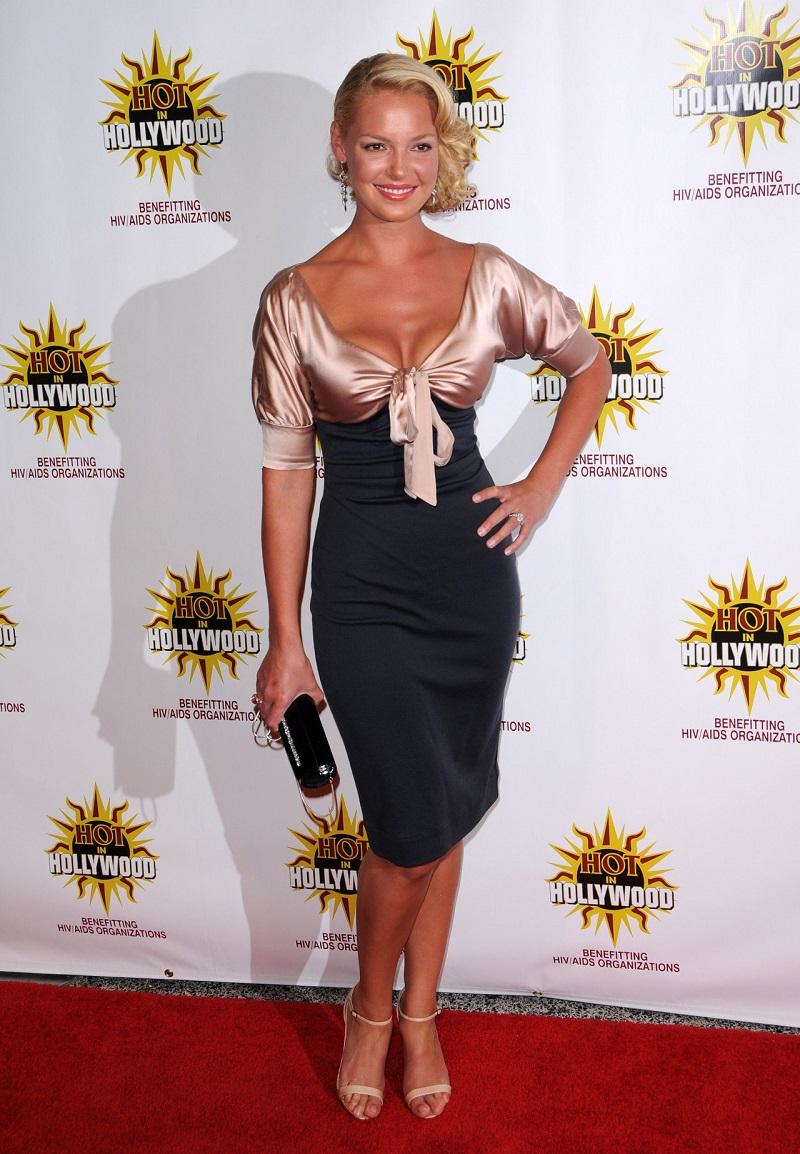 Август 2008 г. Katherine Heigl на The 3rd Annual Hot в Голливуде, ЛА, США.