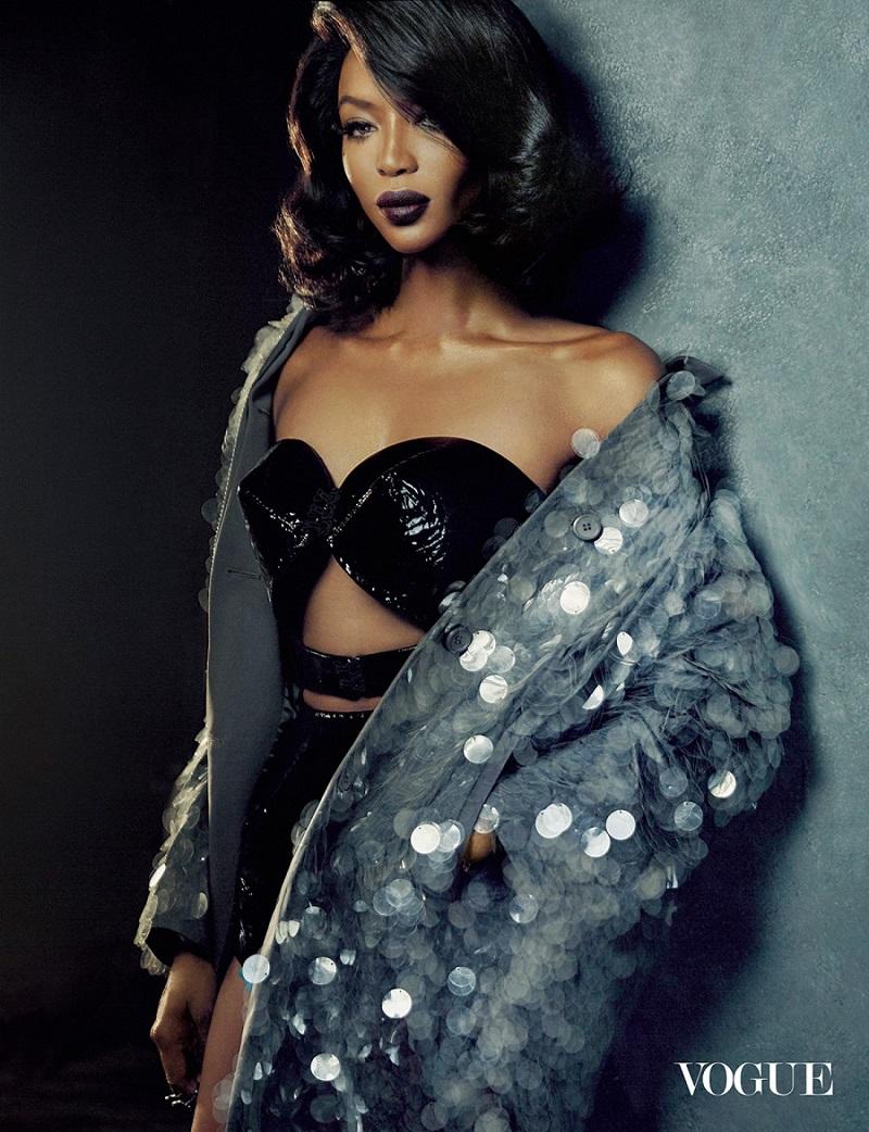 Наоми для журнала Vogue