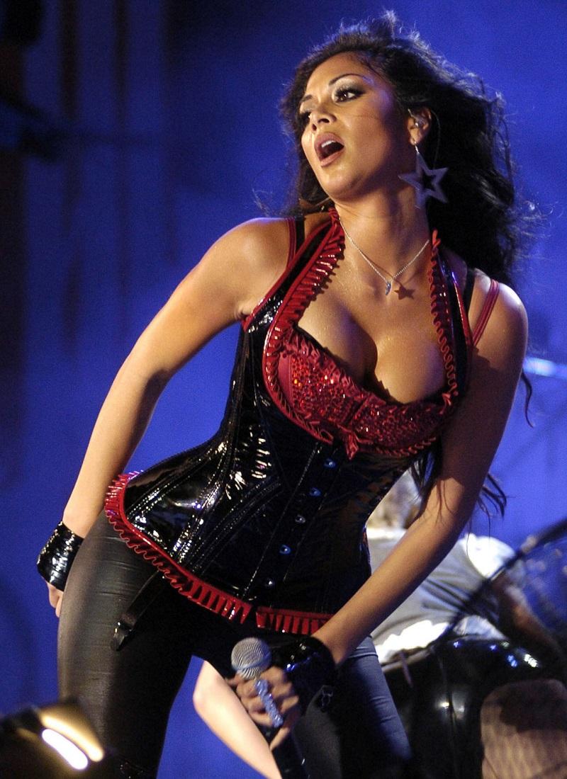 Nicole Scherzinger Концерт в Малаге, Испания.