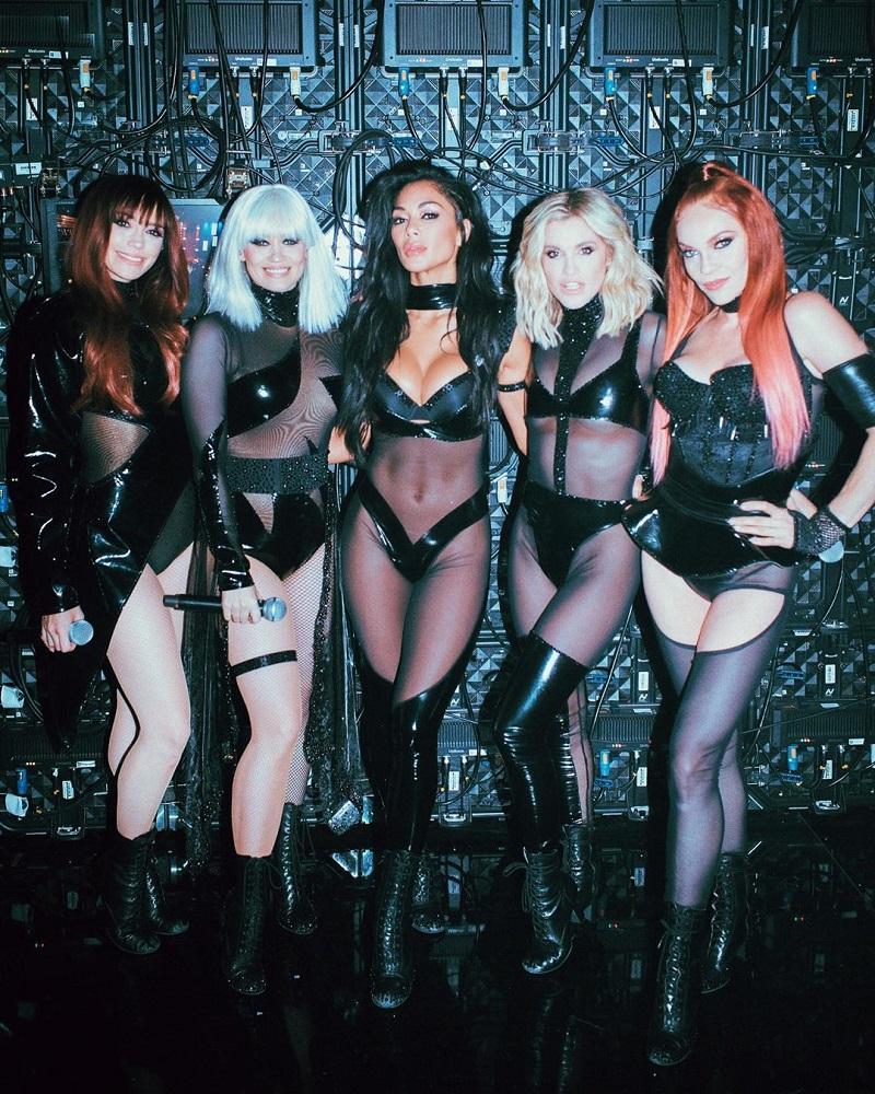 Nicole Scherzinger в составе Pussycat Dolls 2019