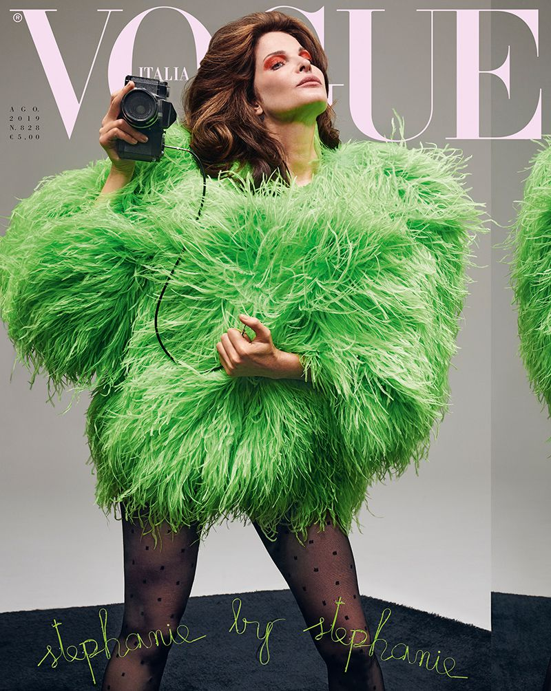 Стефани Сеймур для журнала Vogue