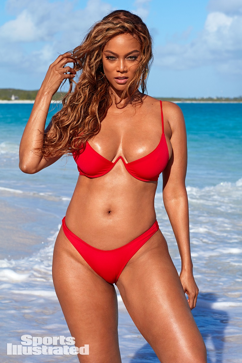 Tyra Banks для Sports Illustrated в 2019 г.