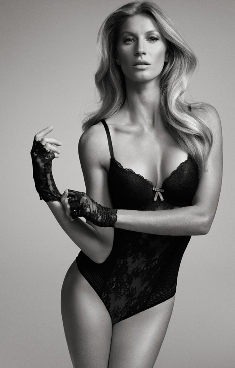 Жизель Бюндхен в фотосессии для каталога Victoria's Secret