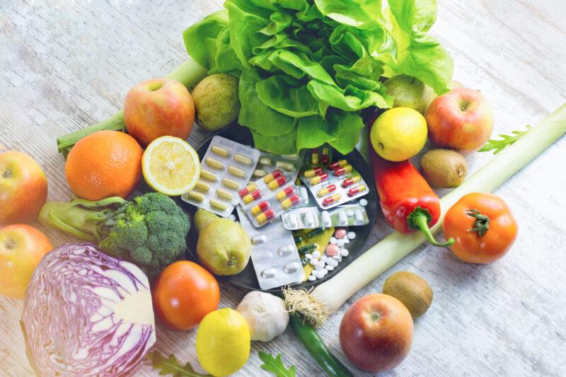 Нехватка витаминов в организме человека