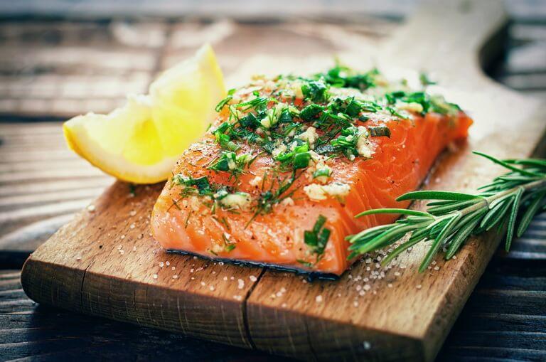Полезные жиры лосося