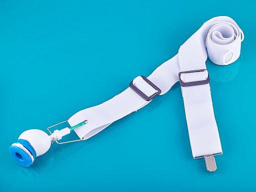 Экстендер для увеличения пениса - привязывается подд колено