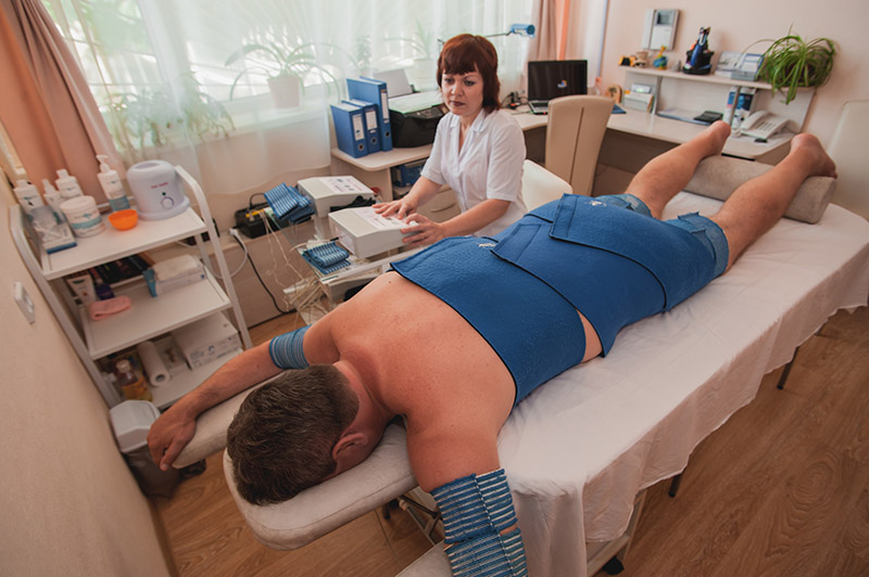 Процедура электростимуляции мышц