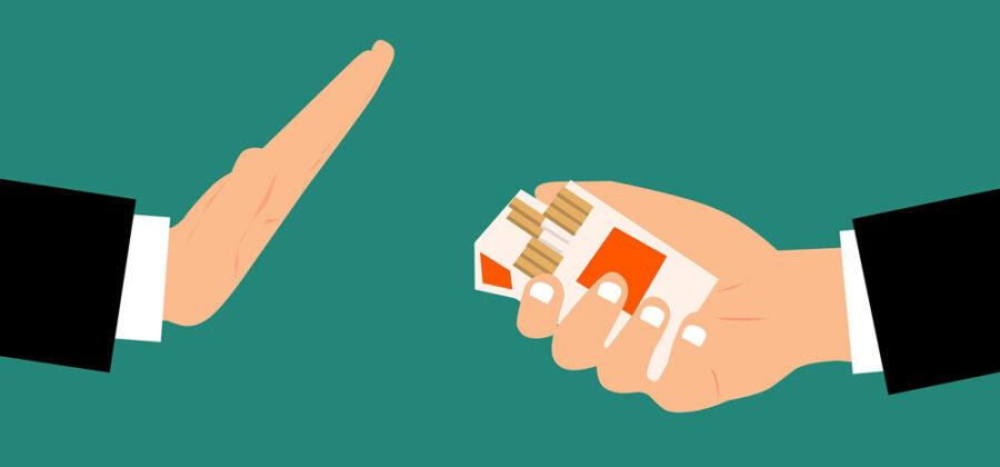 Почему набирают вес при отказе от курения