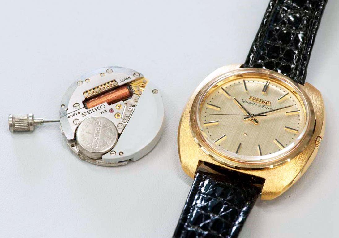 Кварцевые часы Astron от Seiko