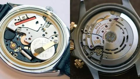 Кварцевые и механические часы «изнутри»