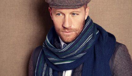 Как завязать шарф мужчине?
